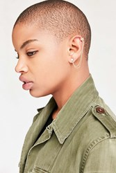 Urban Outfitters Delicate Threader Ear Cuff Earring Gold