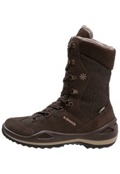 Lowa Barina Gtx Winter Boots Dunkelbraun Beige Dark Brown