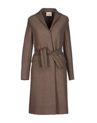 Niu' Coats And Jackets Coats Women Dove Grey