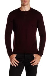 Zachary Prell Knightsbridge Wool Sweater Red