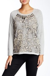 Hale Bob Embroidered Sweater Multi