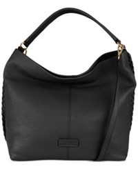 Cole Haan Addey Double Strap Hobo Black
