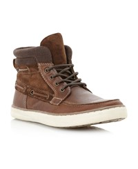Linea Chiltern Apron Cup Sole Boot Tan