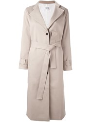 Libertine Libertine 'Board' Trench Coat Nude And Neutrals