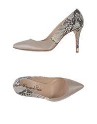 Emanuela Passeri Pumps Light Grey