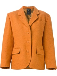 Jean Paul Gaultier Vintage Classic Blazer Yellow And Orange