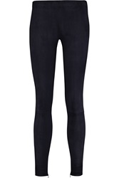 Iris And Ink Carrie Stretch Suede Leggings