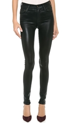 Citizens Of Humanity Rocket Leatherette Jeans Black