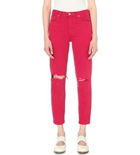 Citizens Of Humanity Liya High Rise Classic Fit Jeans Double Dare