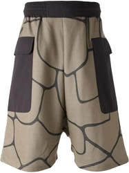 Silent Damir Doma Pocketed Track Pants Brown