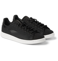 Adidas Stan Smith Woven Leather Sneakers