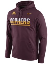 Nike Men's Minnesota Golden Gophers Circuit Hoodie Maroon