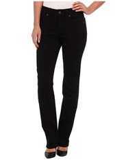 Miraclebody Jeans Katie Straight Leg In Jet Black Jet Black Women's Jeans