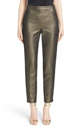 Women's St. John Collection 'Emma' Metallic Tweed Crop Pants