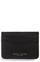 Women's Marc Jacobs 'Gotham' Leather Card Case