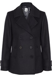 Iris And Ink Wool Felt Peacoat