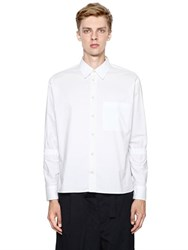 Marni Elastic Armbands Cotton Poplin Shirt