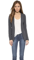 James Jeans Boyfriend Blazer Charcoal Blue