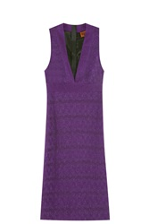 Missoni Rochelle Mini Dress Purple