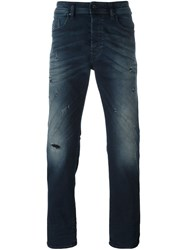 Diesel Slim Tapered Jeans Blue