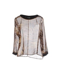 Amy Gee Shirts Blouses Women Sand