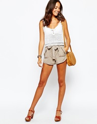 New Look Utility Short Lightbrown