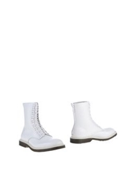 Undercover Ankle Boots White