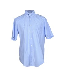 Carlo Pignatelli Shirts Shirts Men Blue