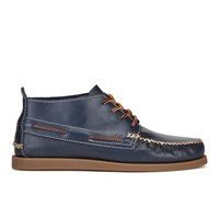 Sperry Men's A O Wedge Leather Chukka Boots Navy