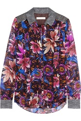 Matthew Williamson Printed Silk Chiffon Shirt