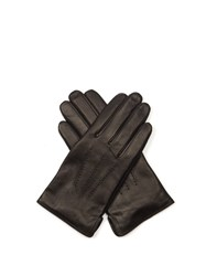 A.P.C. Luc Leather Gloves Black