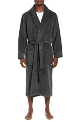 Nordstrom Men's Hydro Cotton Terry Robe Charcoal