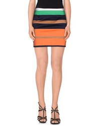 G.Sel Skirts Mini Skirts Women Orange