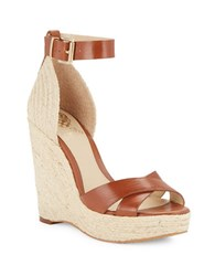 Vince Camuto Maurita Espadrille Wedge Sandals Brown