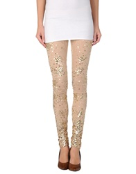 Pinko Black Leggings Beige