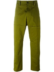 Oamc Pocket Detail Trousers Green