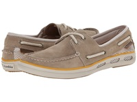 Columbia Vulc N Vent Boat Suede Oxford Tan Stone Women's Shoes Brown