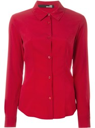 Love Moschino Cutaway Collar Shirt