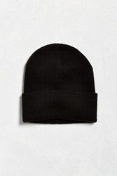 Urban Outfitters Uo Solid Watch Cap Black