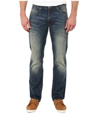 Dkny Bleecker Jean Tacoma Tinted In Indigo Wash Indigo Wash Men's Jeans Blue