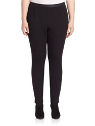 Eileen Fisher Solid Ankle Leggings Black