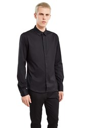 Wooyoungmi Long Sleeve Button Up Black