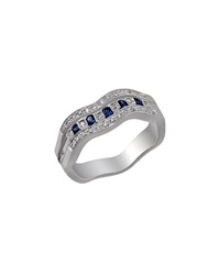 Damiani Belle Epoque Diamond Channel Ring Size 6.5