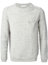 Mauro Grifoni Crew Neck Sweater White