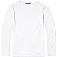 T By Alexander Wang Long Sleeve Classic Tee White