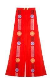 Peter Pilotto Medea Skirt Red