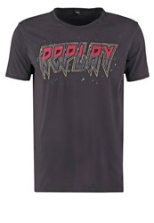 Replay Print Tshirt Black