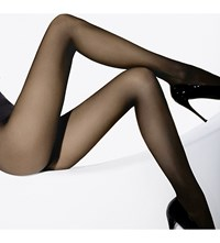 Wolford Individual 10 Nylon Blend Tights Coca