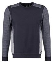 Japan Rags Lakey Sweatshirt Atlantic Dark Blue