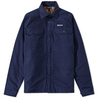 Patagonia Insulated Fjord Flannel Overshirt Blue